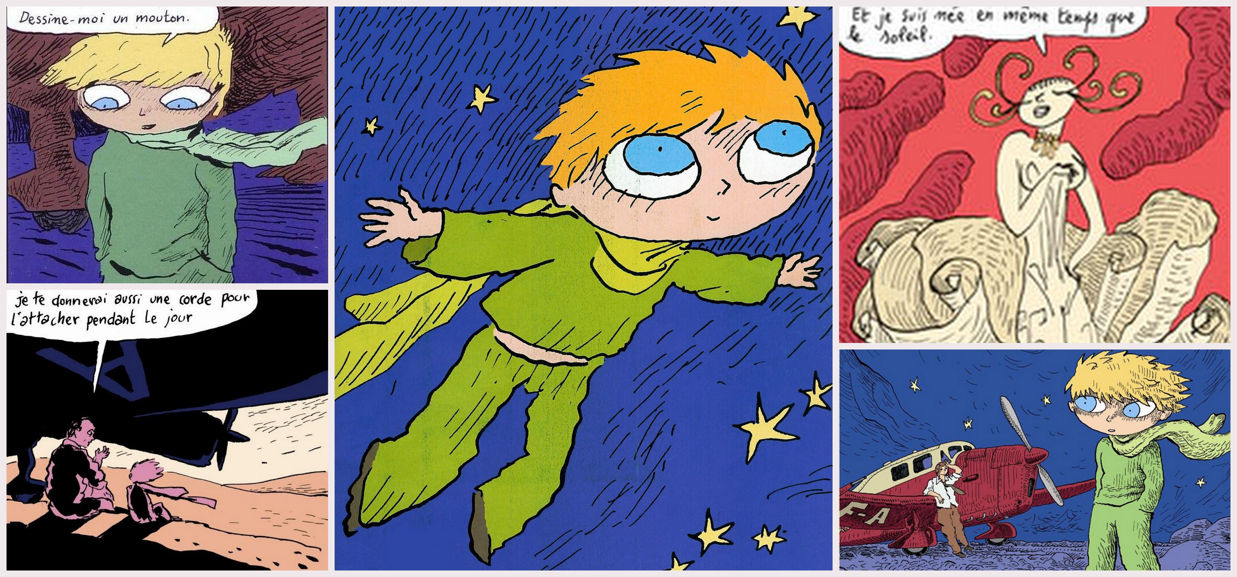 le petit prince analysis In 1943, reynal & hitchcock published saint-exupéry's the little prince in english, translated by katherine woods and then published the french version (le petit prince) shortly after the.