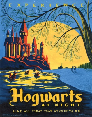 Hogwarts_at_Night_painting_01